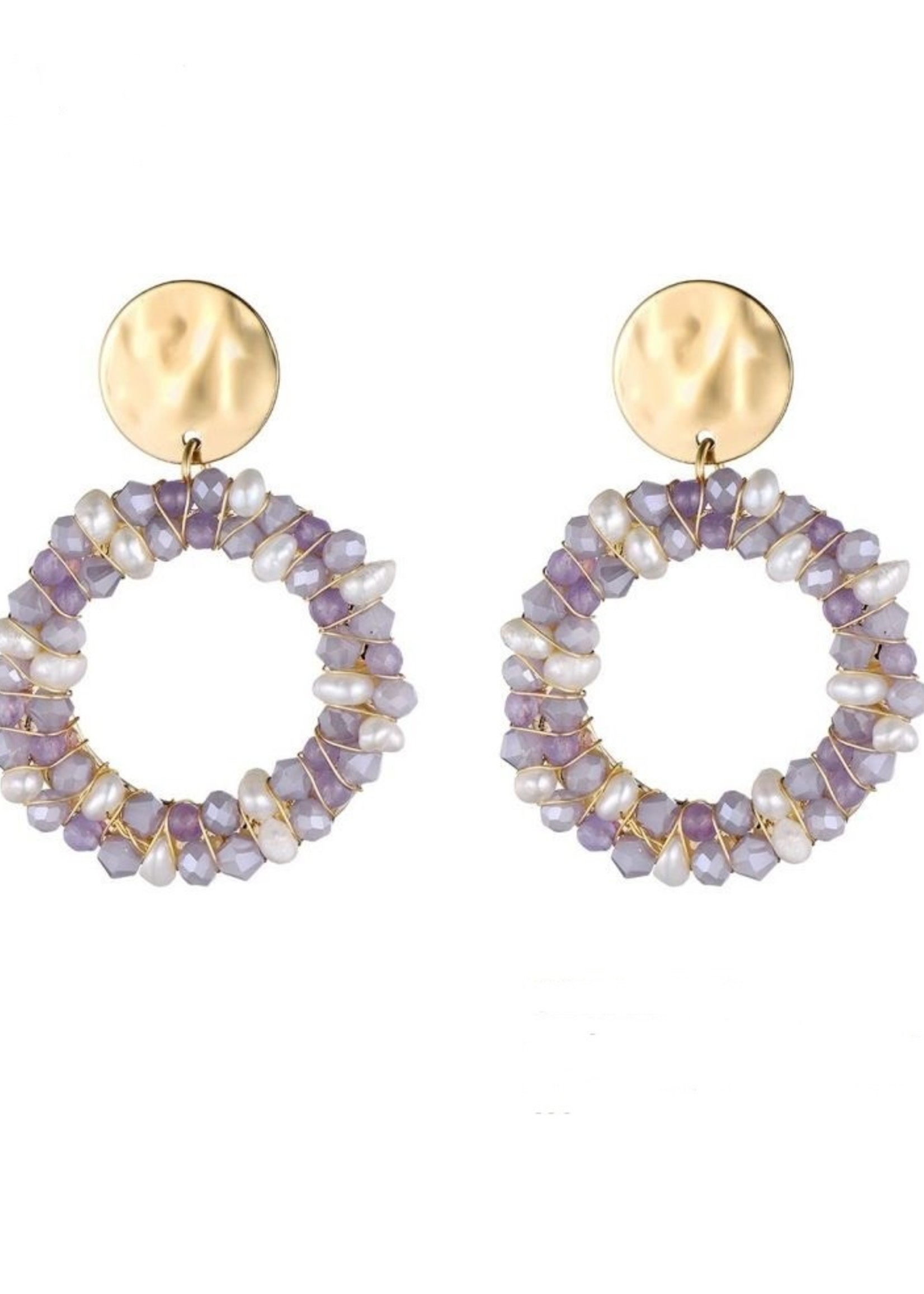 Oorbellen Color & Pearls