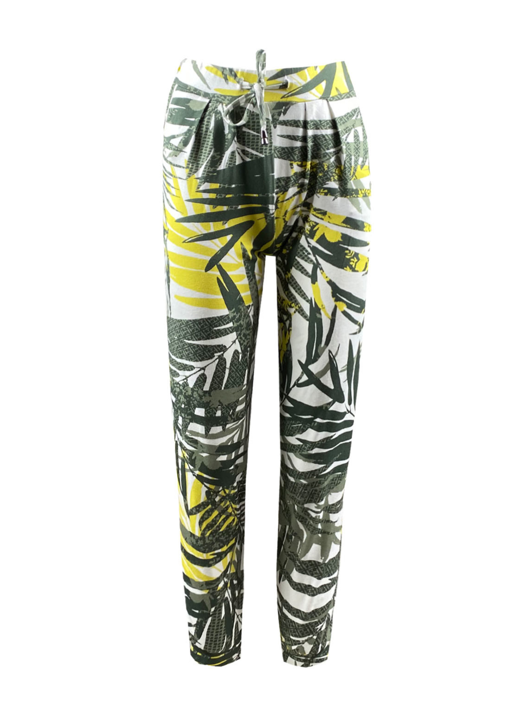 Elvira Collections Elvira Collections Tropical Trouser