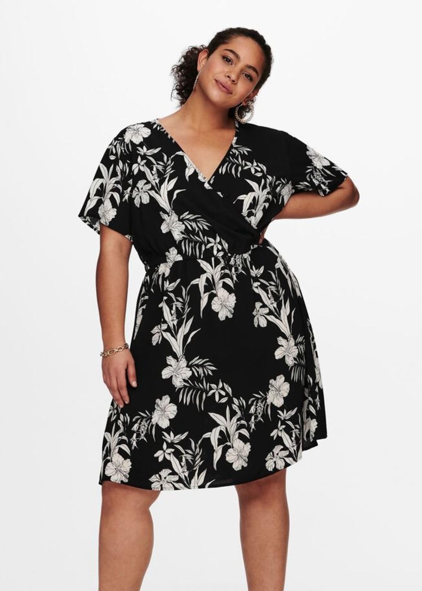 Only Carmakoma Only Carmakoma Luxina Wrap Dress