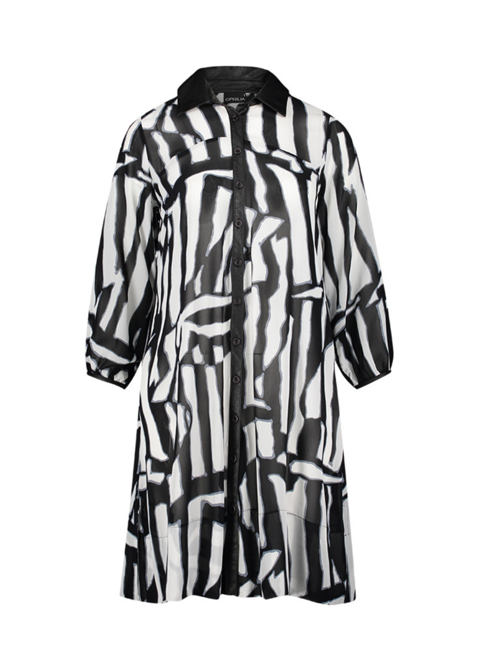 Ophilia Ophilia Aida Dress Black & White