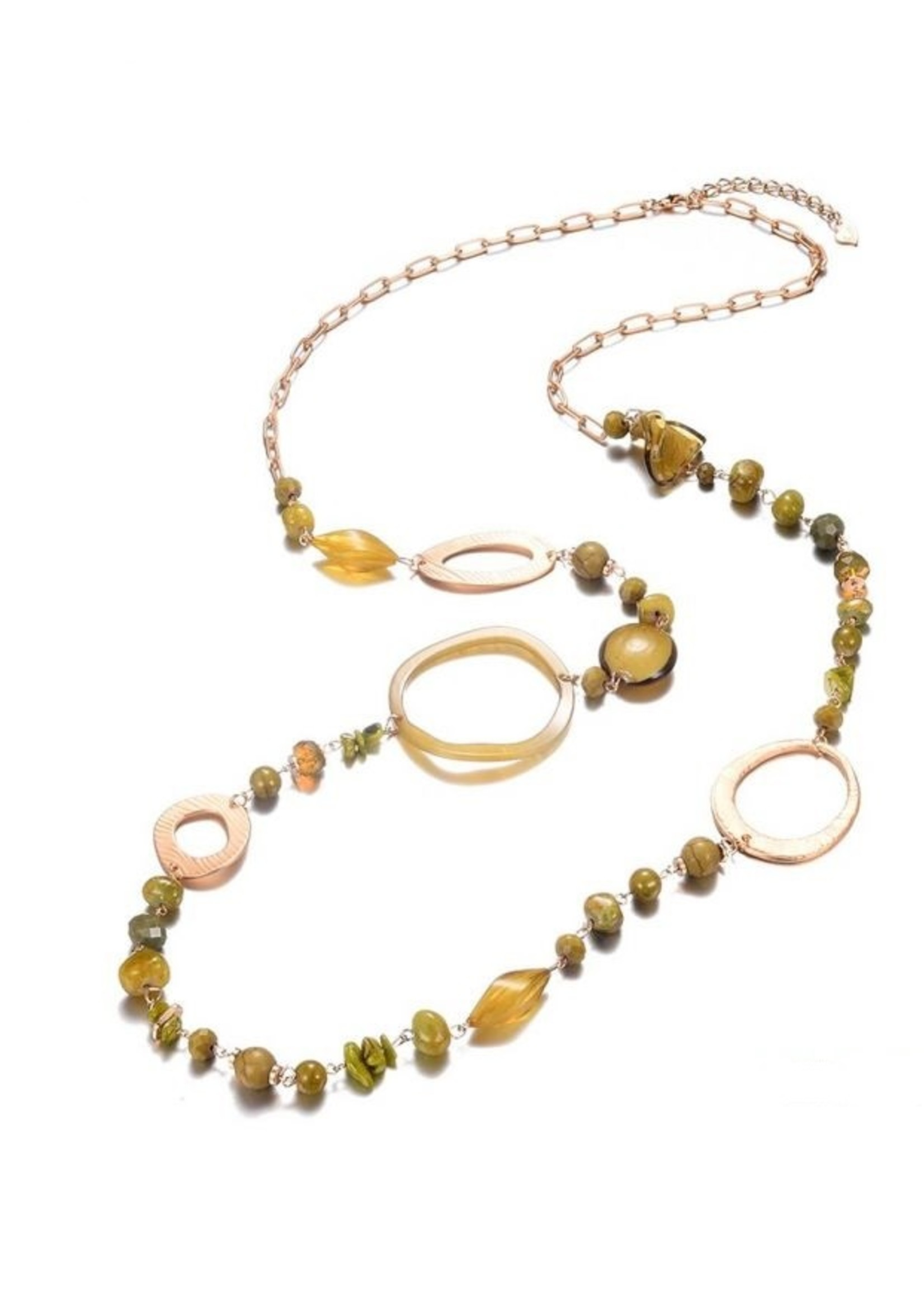 Ketting Olive Time