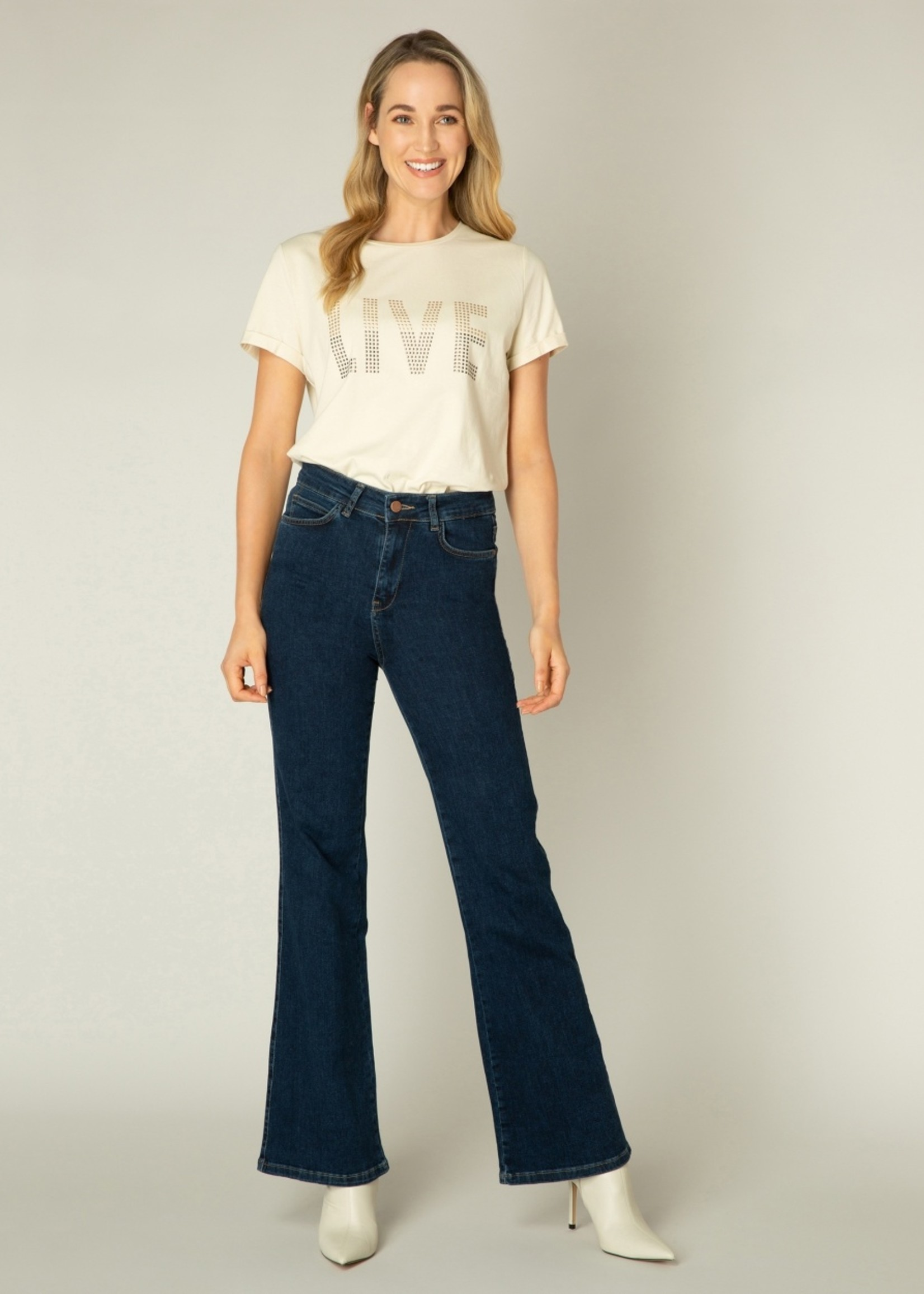 Ivy Beau Ivy Beau Quinin Flared Jeans