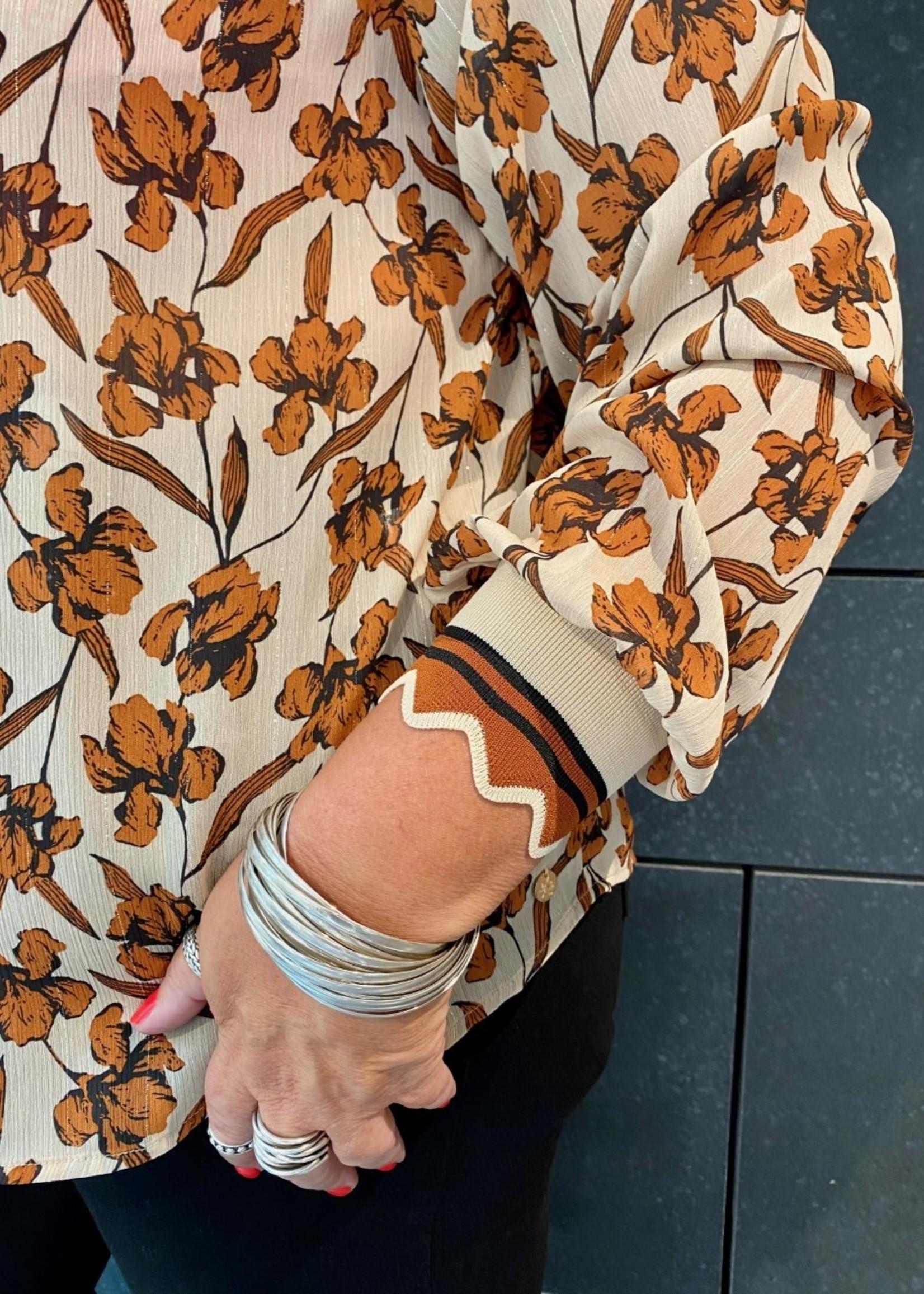 Zoey Zoey Jayla Flower Blouse