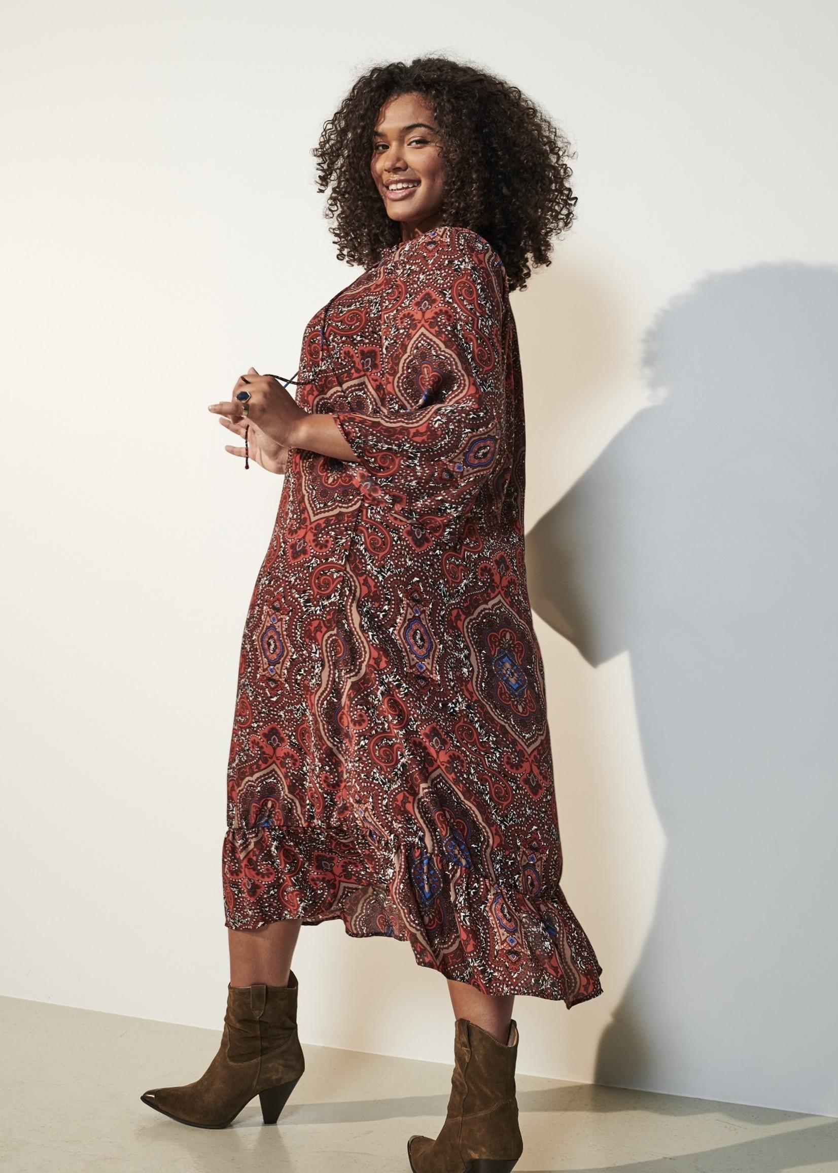 Only Carmakoma Only Carmakoma Paisley Print Dress