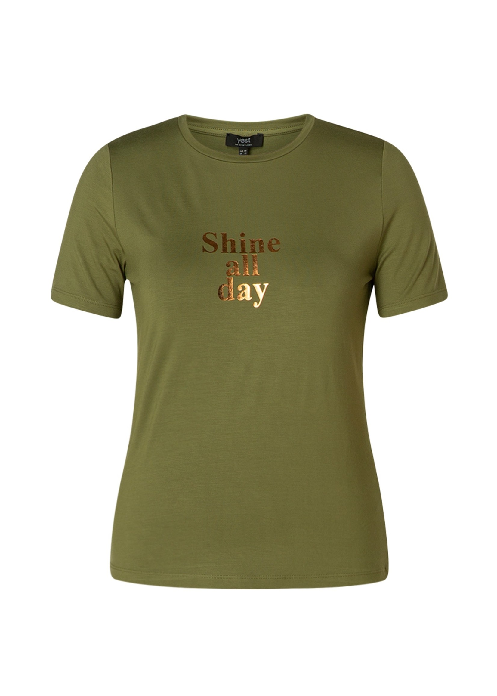 Yest Yest Ceejay T-shirt Olive