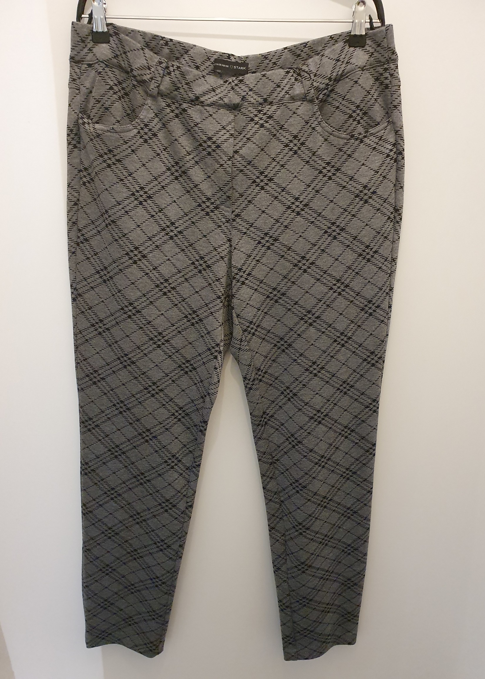 Stark Stark S-Janna Pants Grey Check