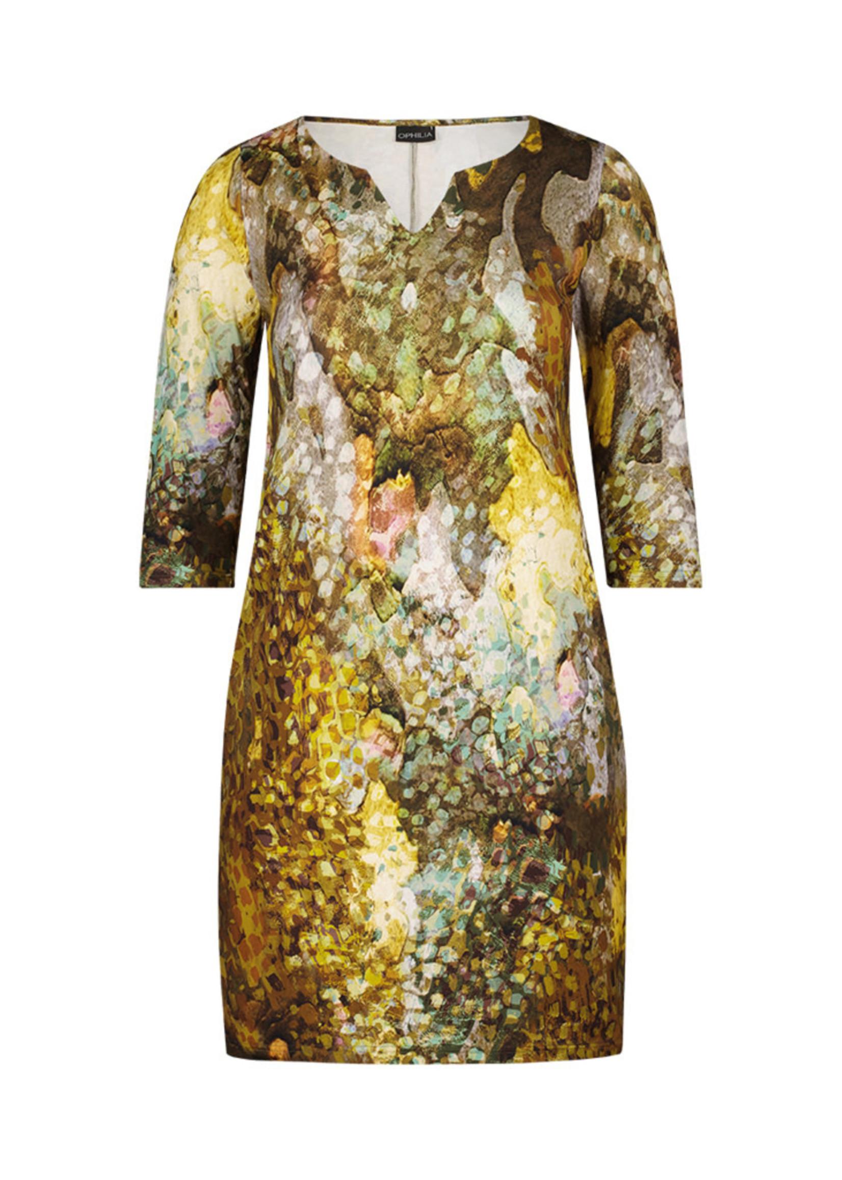 Ophilia Ophilia Yara Dress Spotty Oker