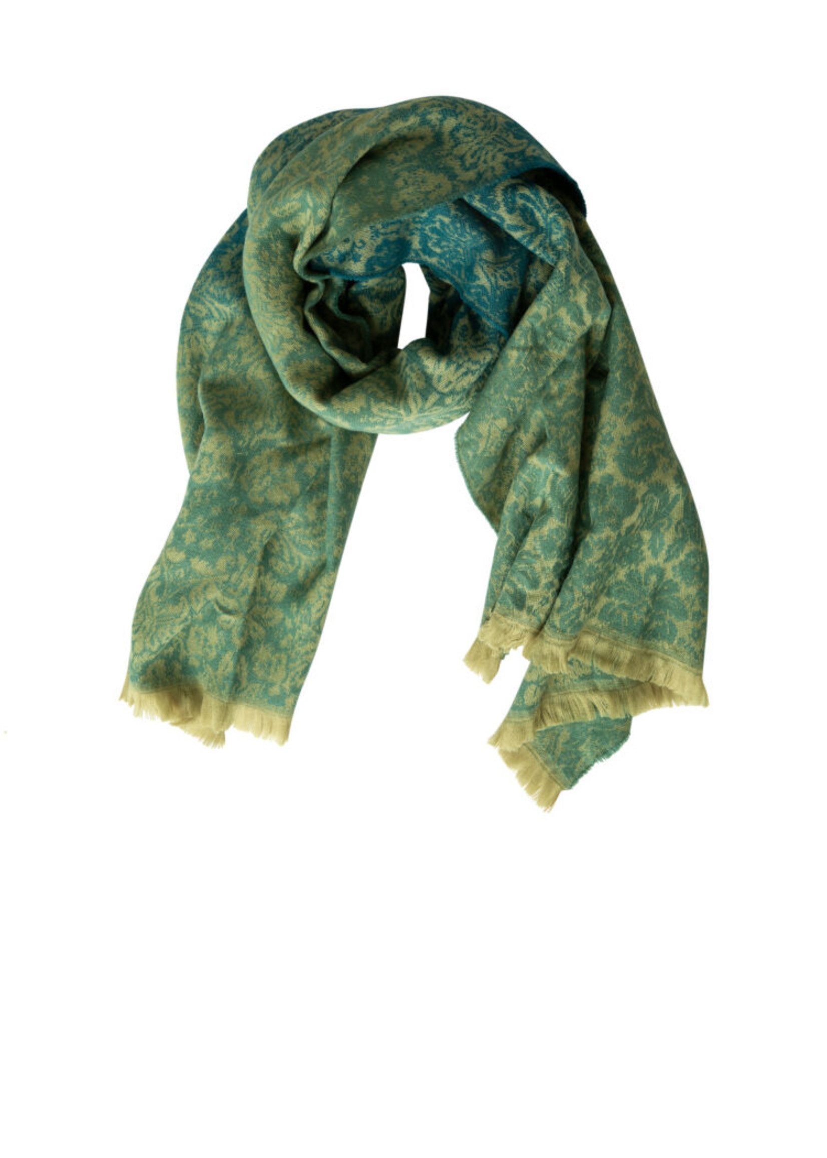 Yest Yest Deep Teal Scarf