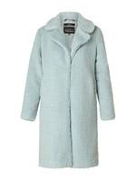 Yest Yest Light Blue Teddy Coat