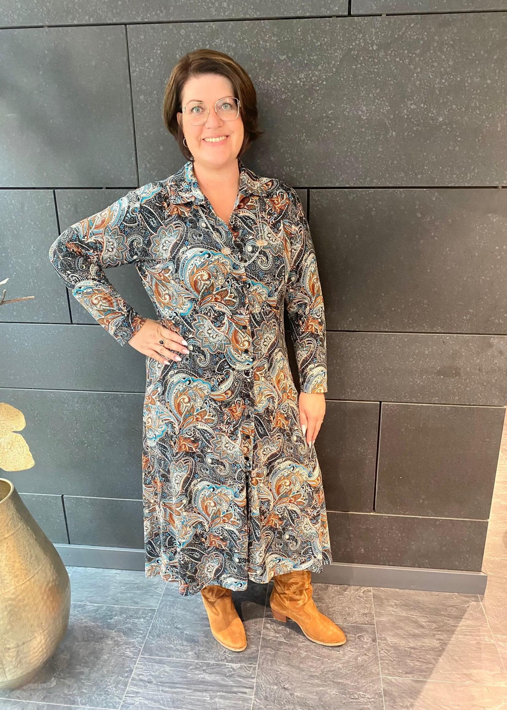 Ophilia Ophilia Lisa Dress Paisley