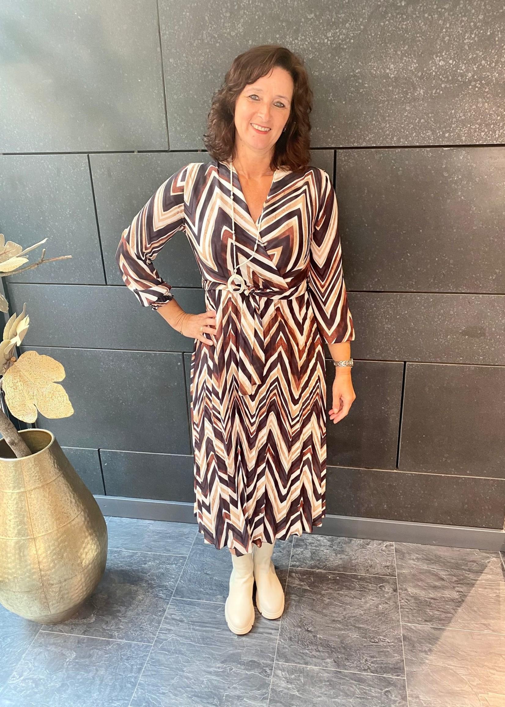 Fos Amsterdam Fos Amsterdam Connie Dress Triangel