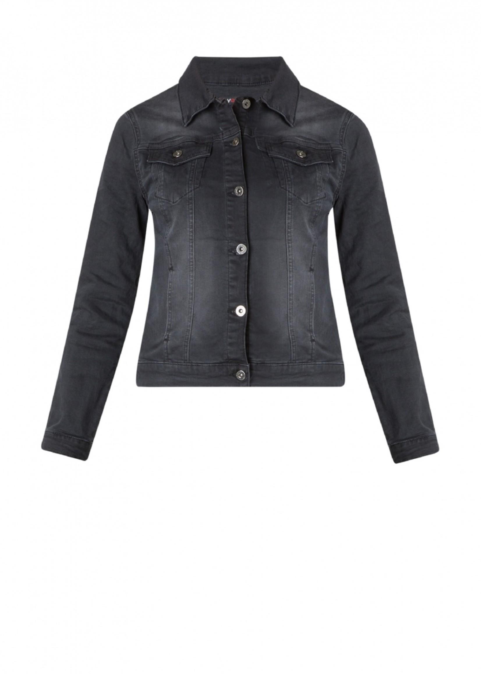 Yesta Yesta Madia Black Denim Jacket