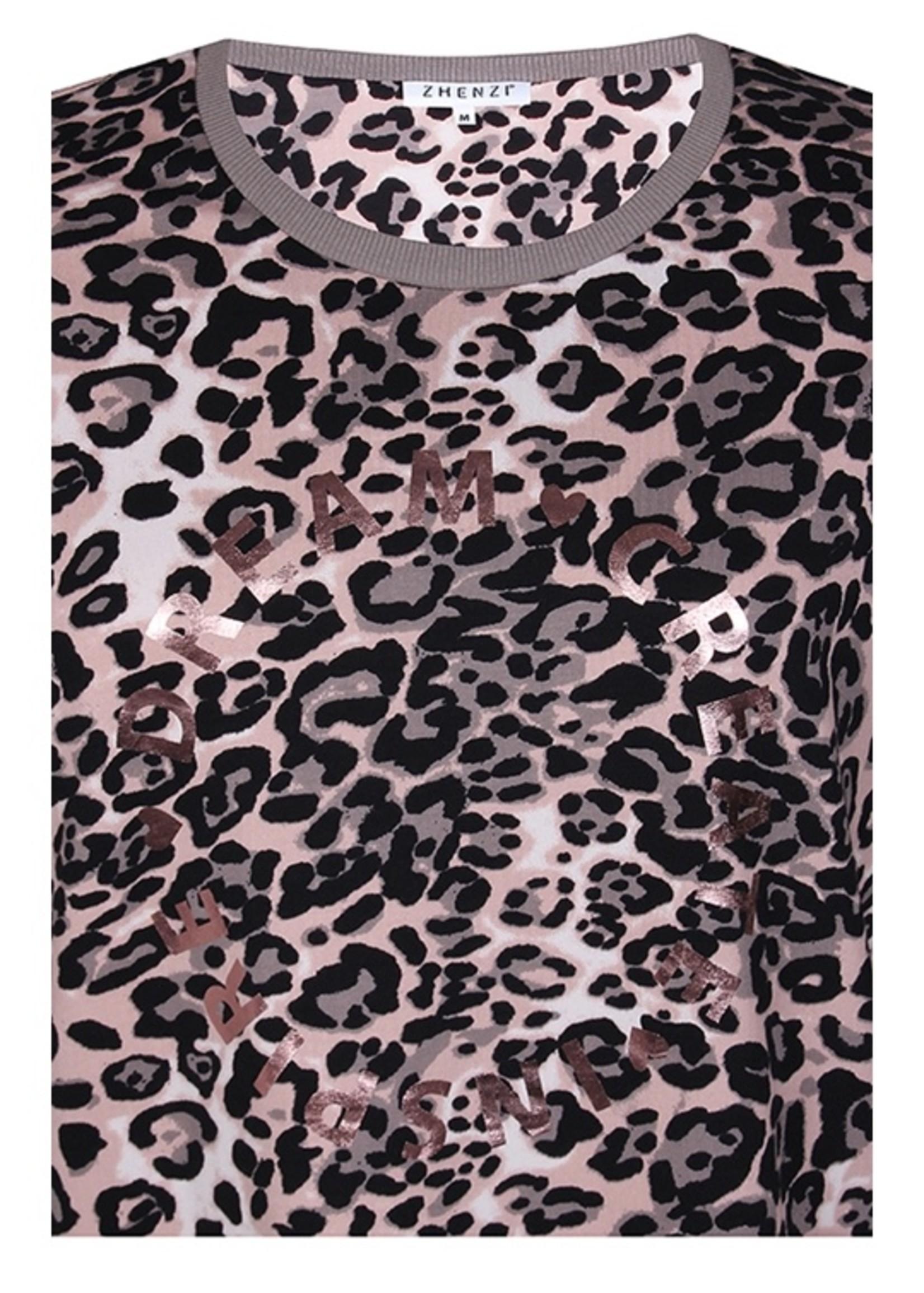 Zhenzi Zhenzi Sire Leopard Tunic