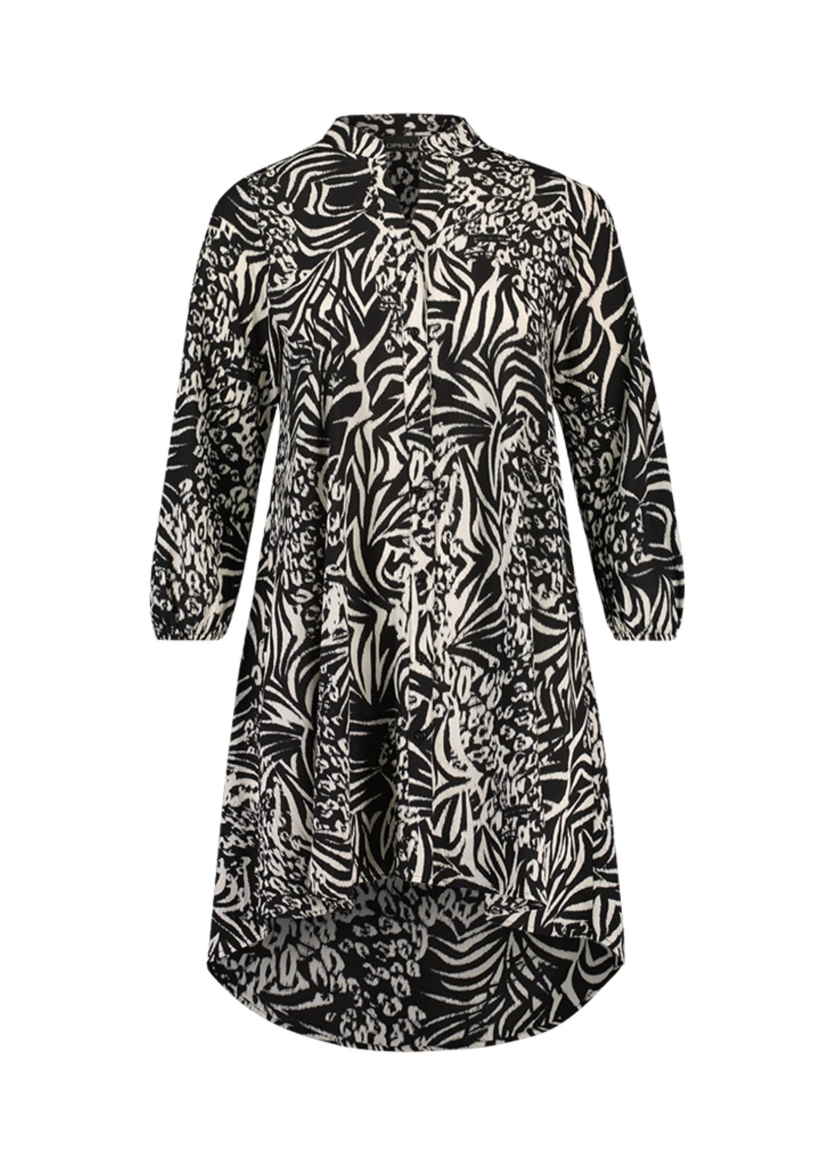 Ophilia Ophilia Noor Dress Black & White
