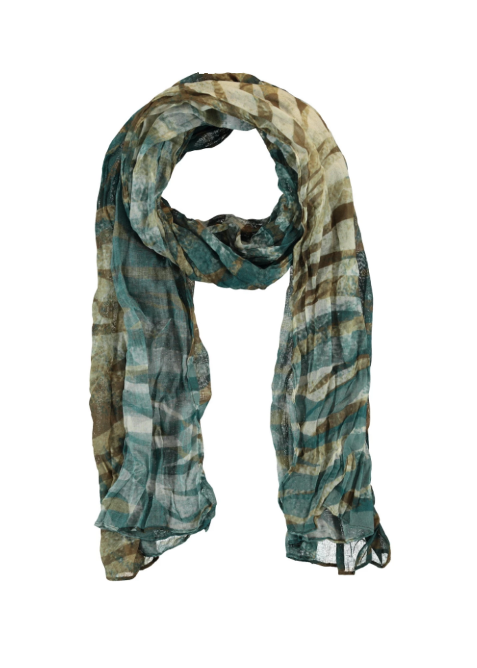 Green Fall Vibes Scarf
