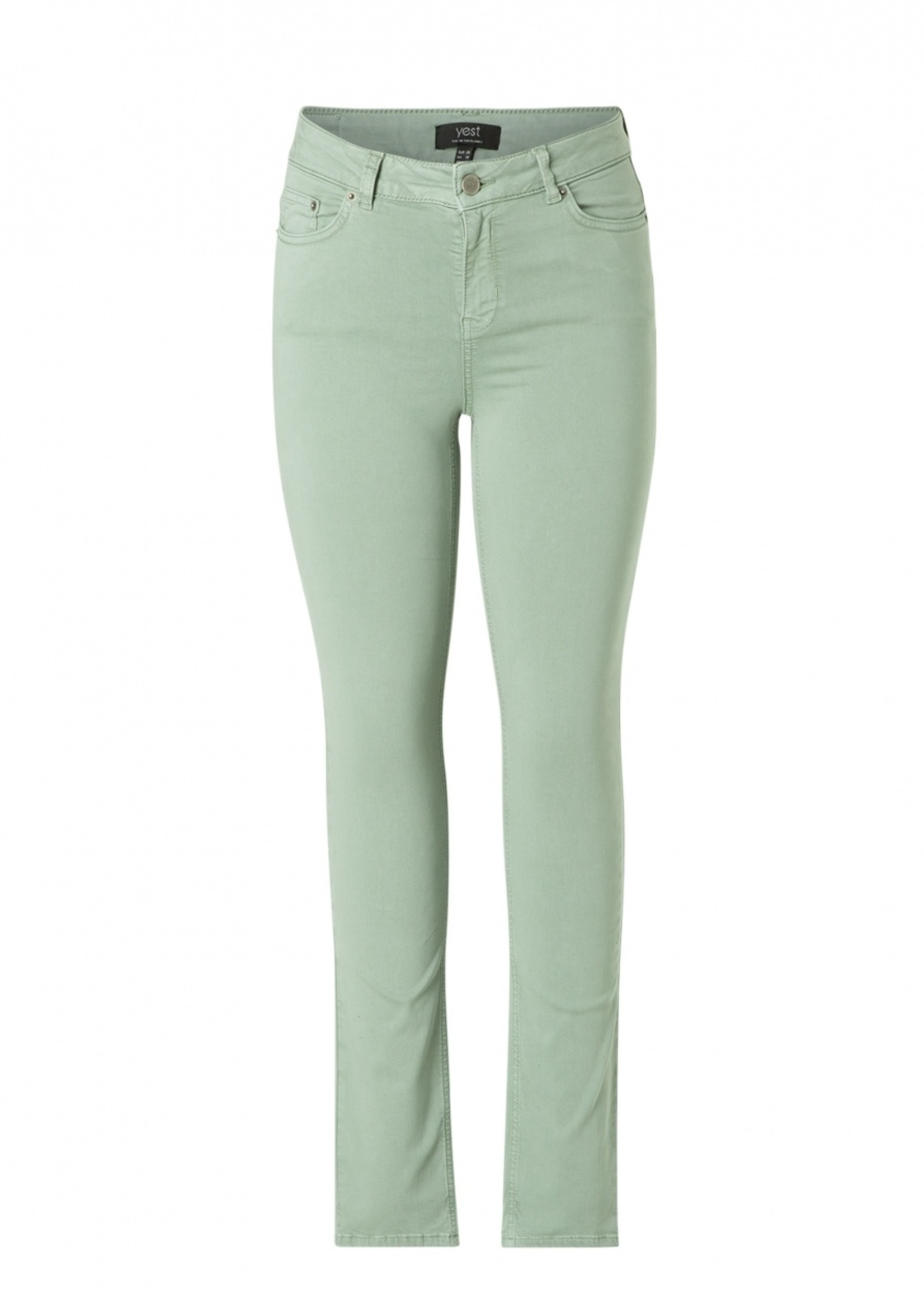 Yest Yest Mell Jeans Greyed Mint