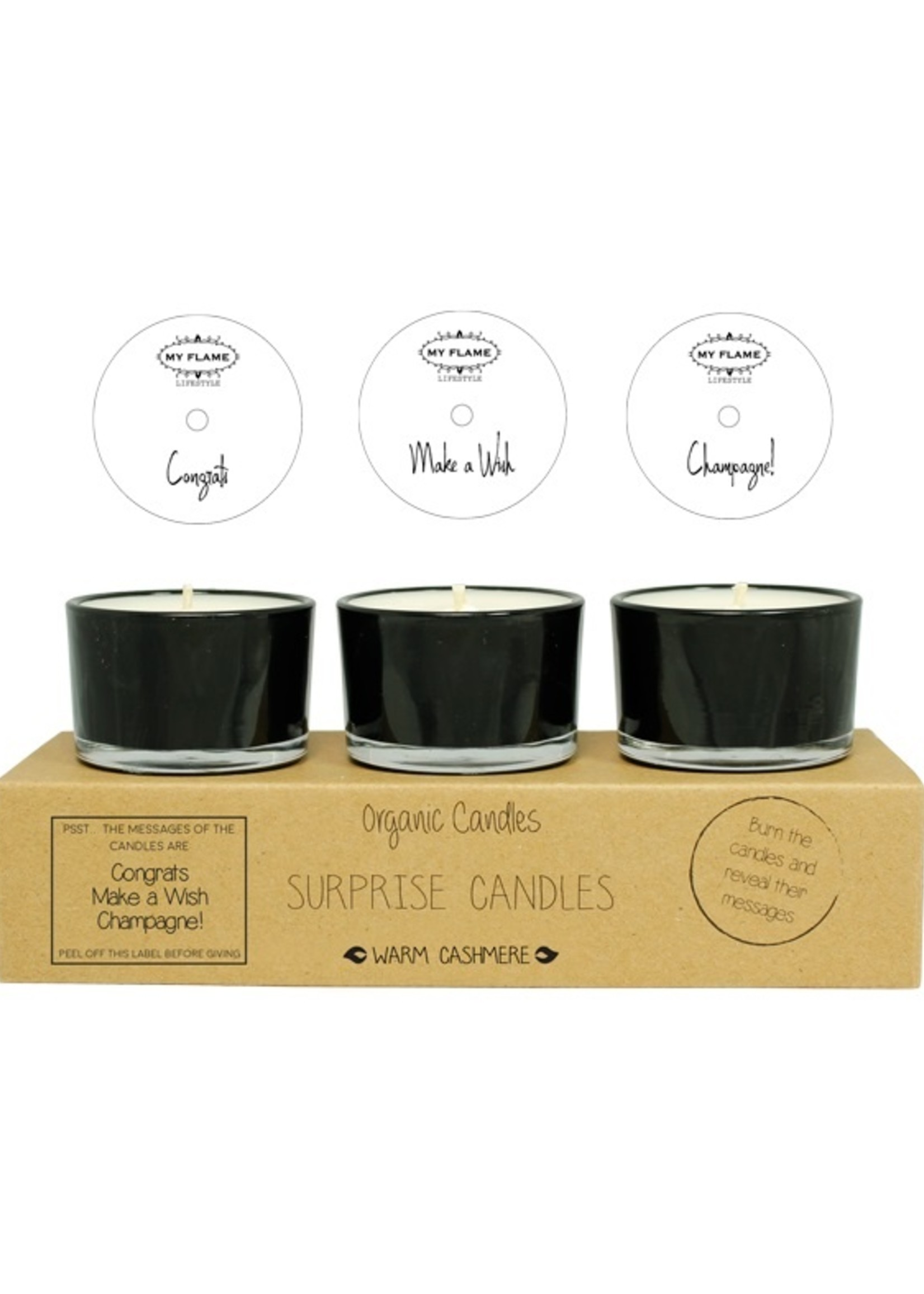 My Flame Lifestyle My Flame Surprise Candles Congrats