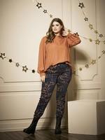 Zhenzi Zhenzi Printed Twill Jeans