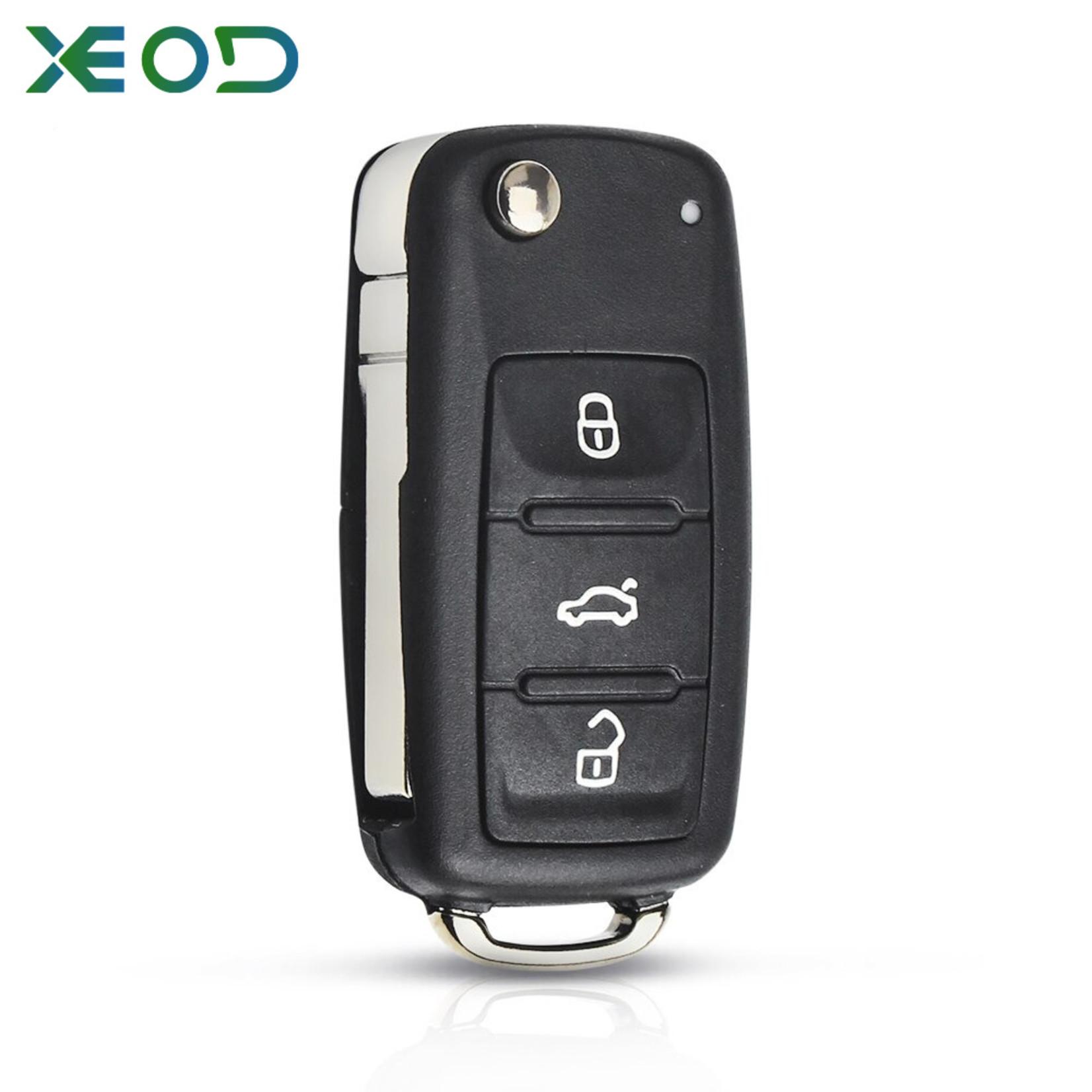 XEOD Volkswagen sleutelbehuizing nieuw model