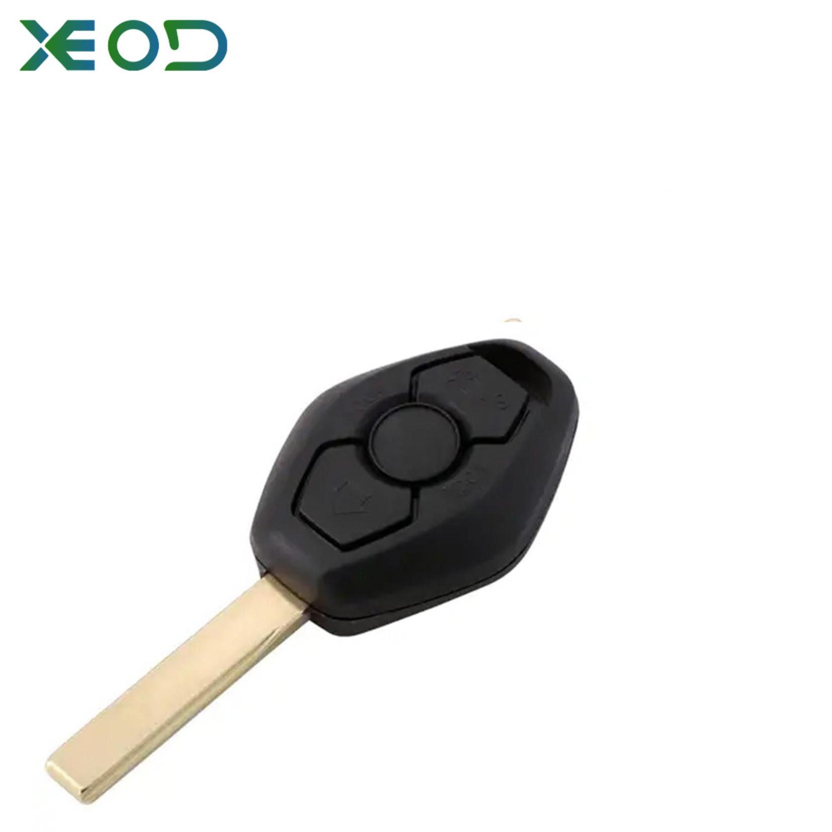 XEOD BMW E sleutelbehuizing 3-knops