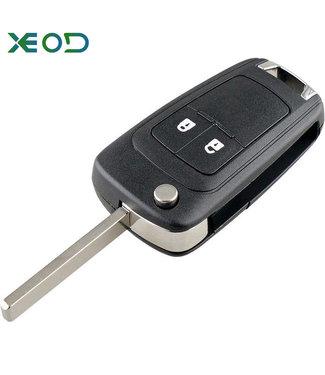 XEOD Opel Klap sleutelbehuizing 2-knops