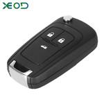 XEOD Opel klap sleutelbehuizing 3-knops