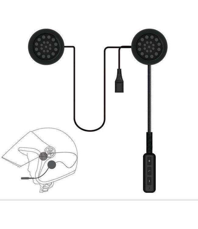 Headset met microfoon – Motorhelm headset – Motor accessoires – Handsfree bellen – Motor - Scooter