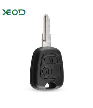 XEOD Peugeot 206 sleutelbehuizing