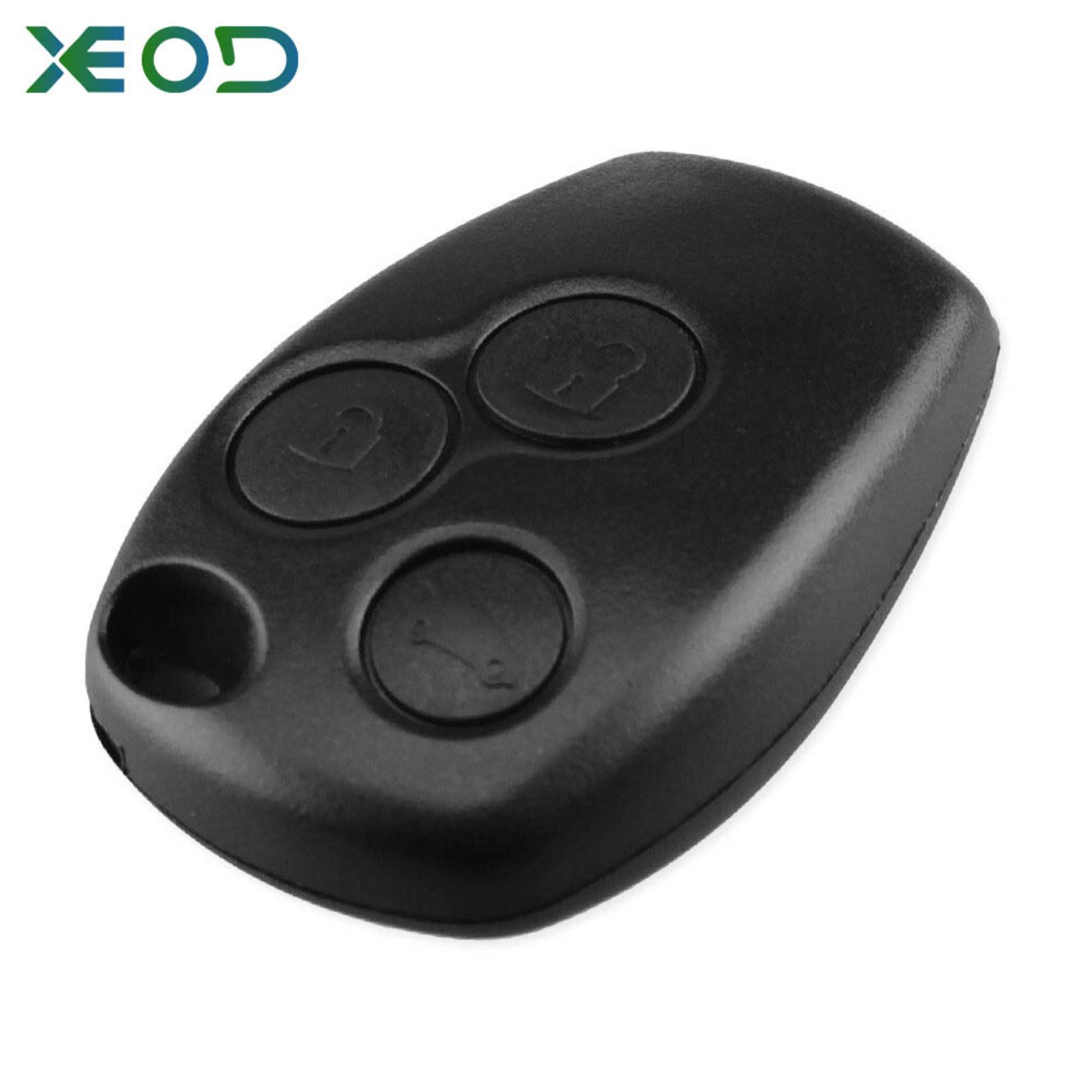 XEOD Dacia 3 knops sleutelbehuizing