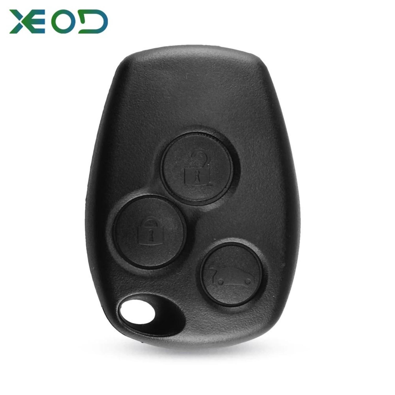 XEOD Renault 3 knops sleutelbehuizing