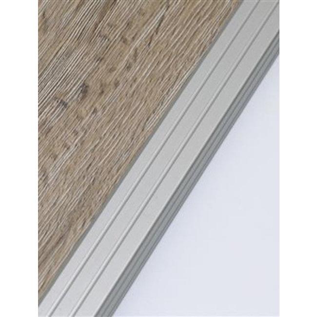 Huis&Vloer Hoekprofiel Zelfklevend Duo 25mm x 2700mm