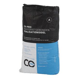 CO-PRO Anhydrietgebonden Egalisatiemiddel 25kg