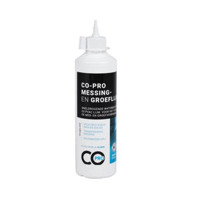 CO-PRO Messing en Groef Lijm 0,5kg