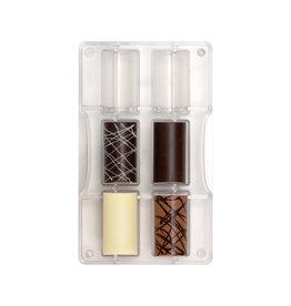 Decora Chocoladevorm polycarbonaat cilinder groot