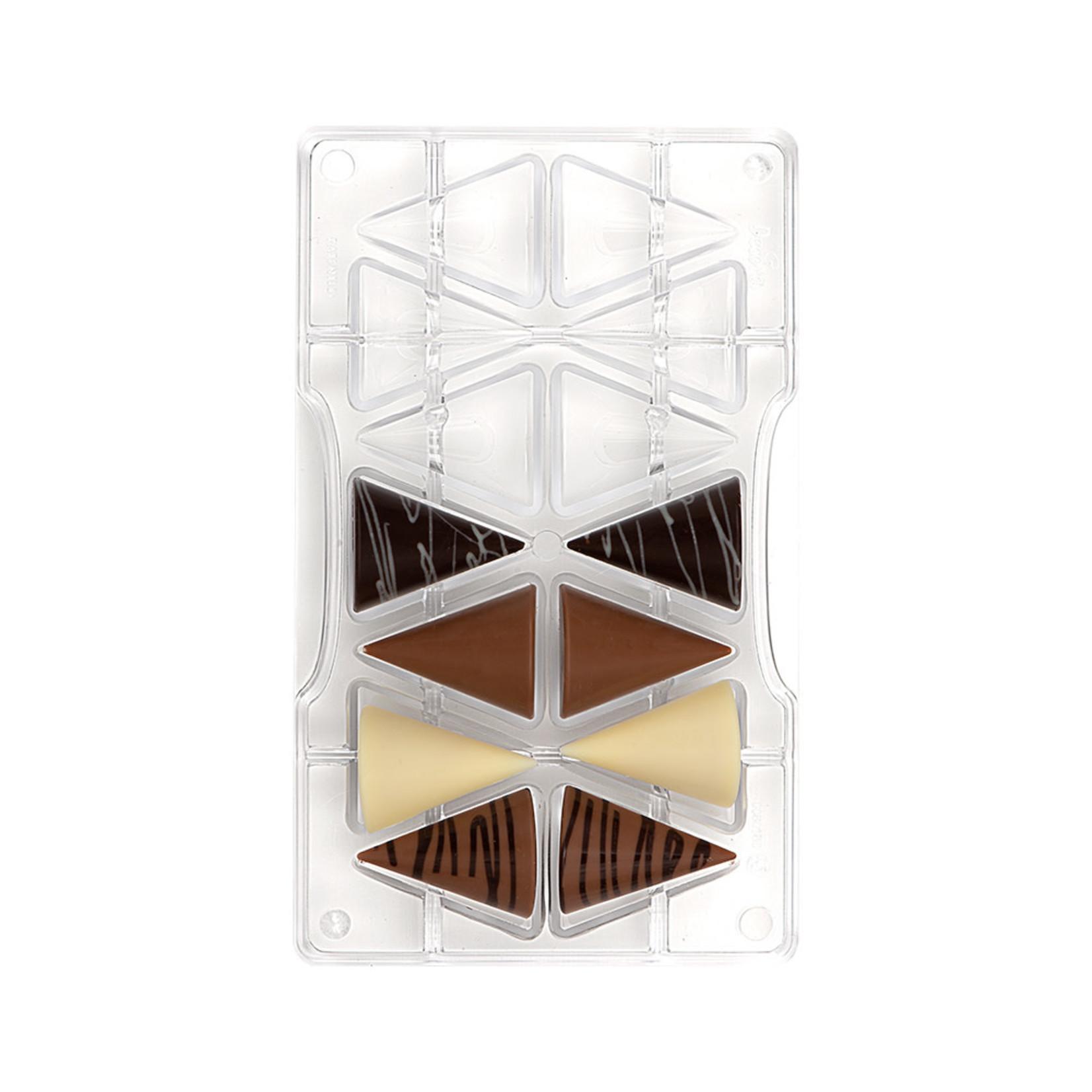 Decora Chocoladevorm polycarbonaat conus