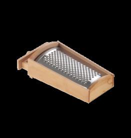 Eppicotispai Rasp met houten bakje 27x14x9