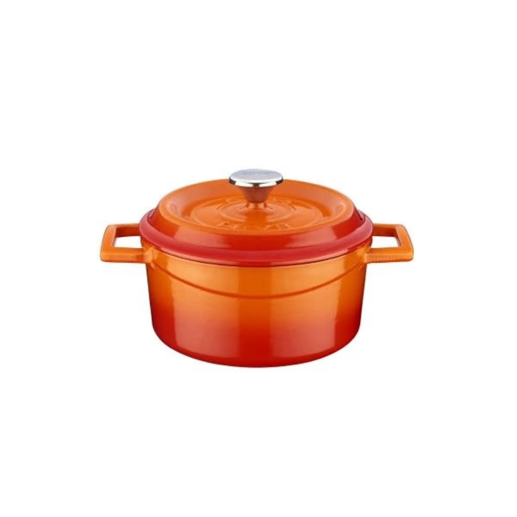 Lava Braadpan 12cm 0,53L Oranje