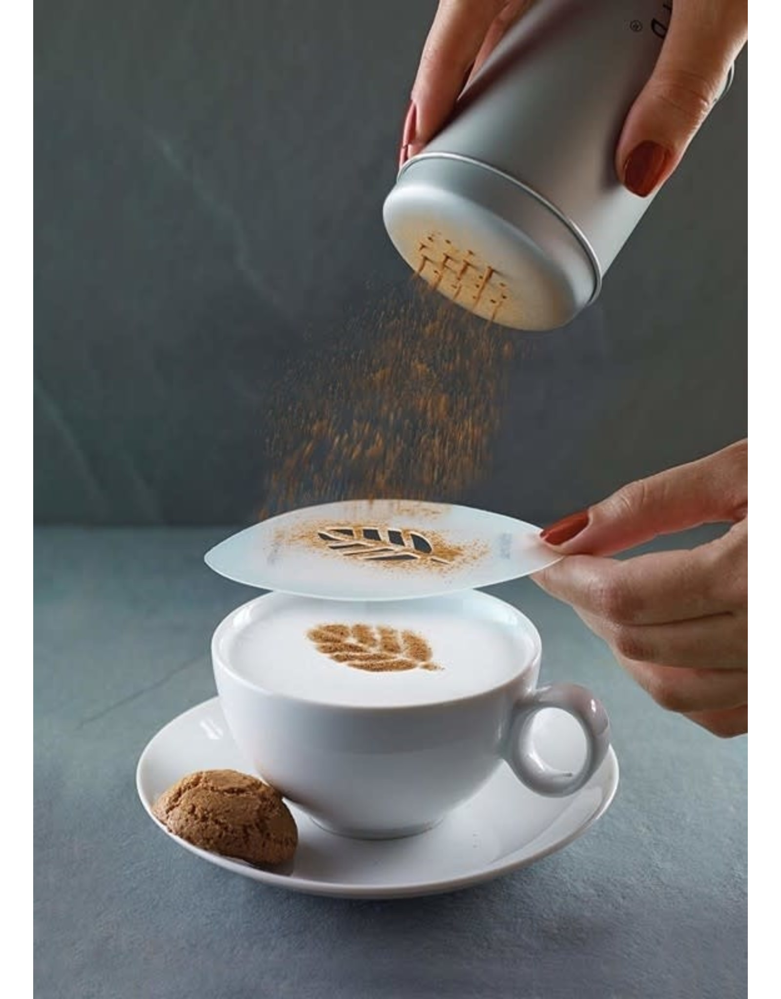 Aerolatte Cappuccinosjablonen, set van 6