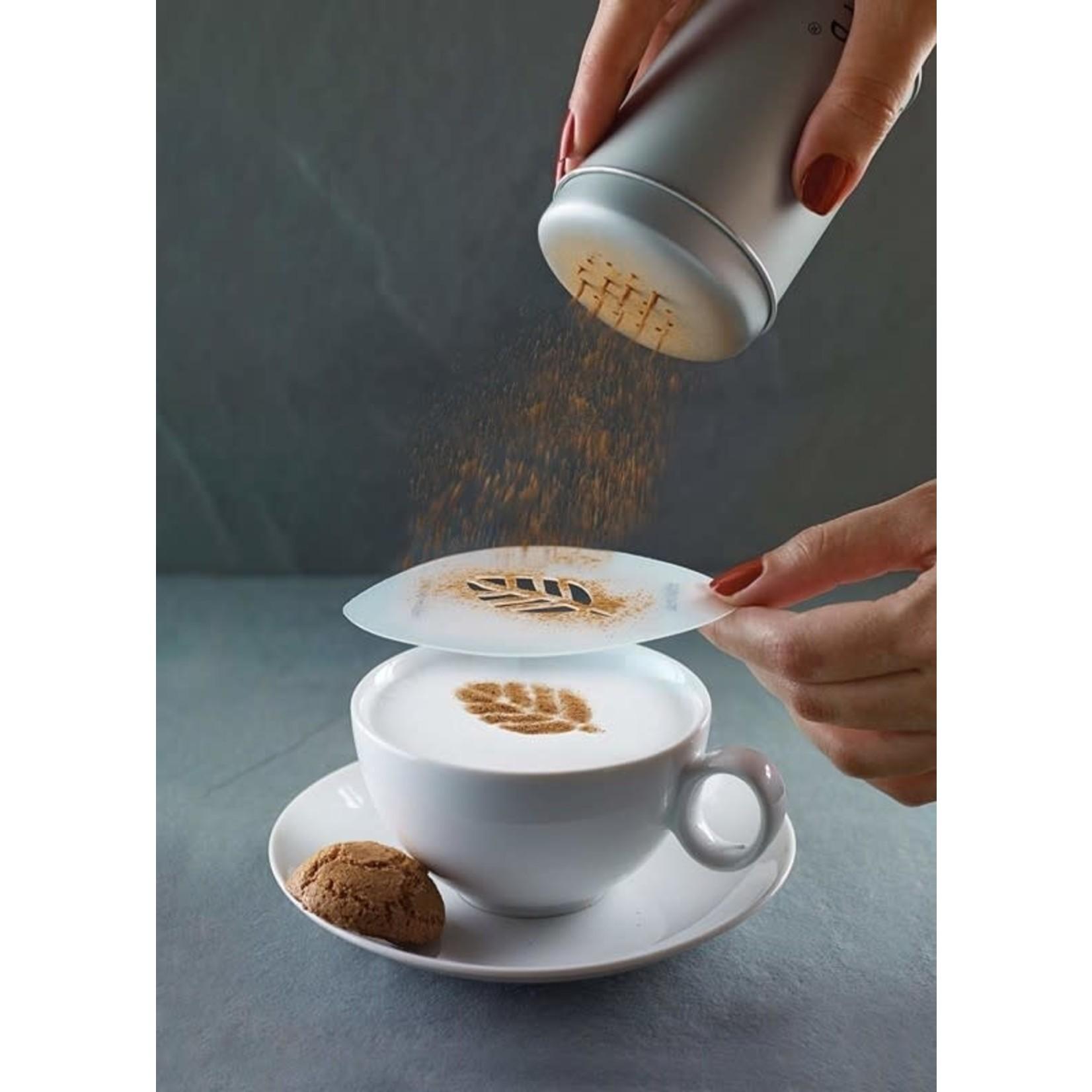 Cappuccinosjablonen, set van 6