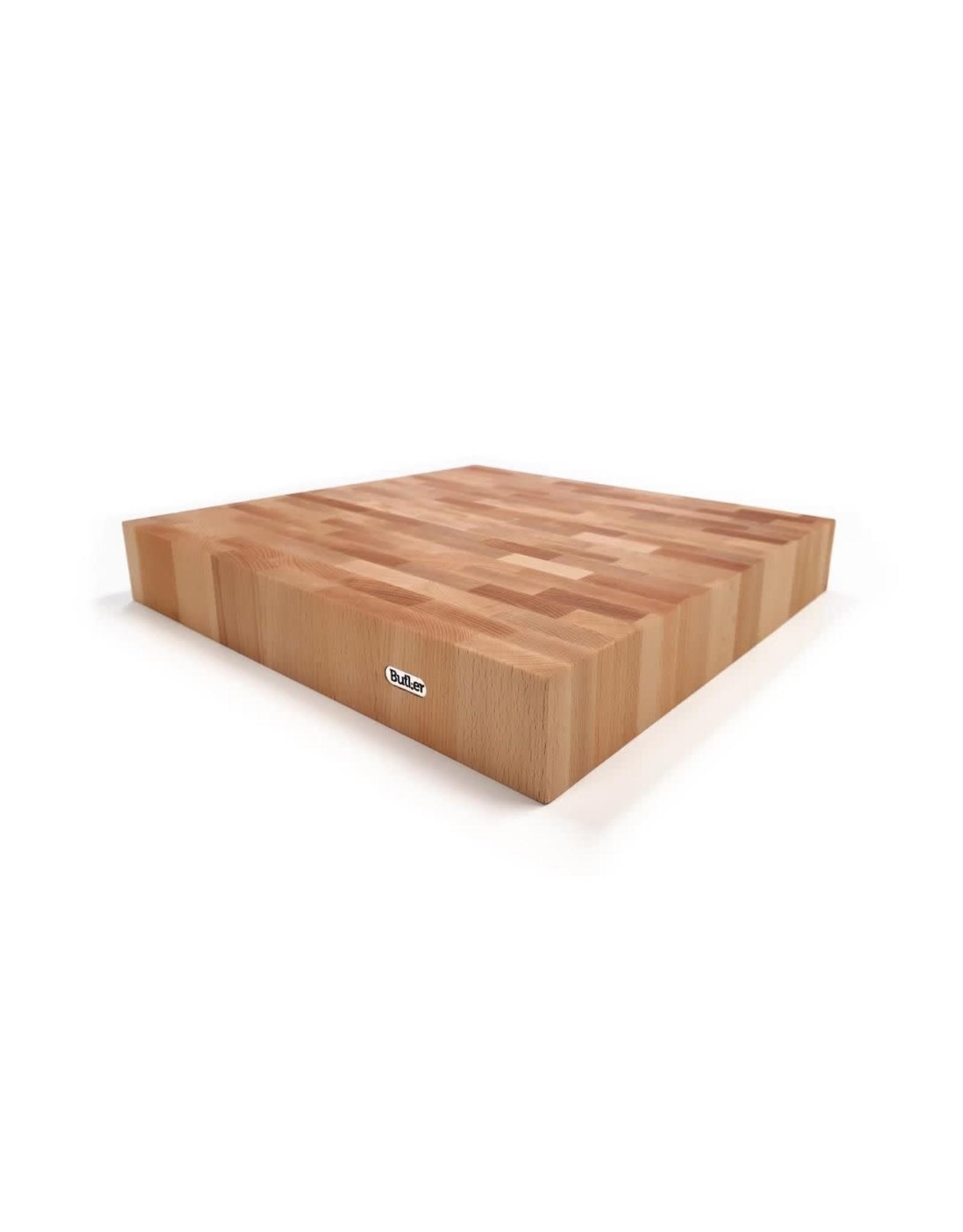 Butler Hakblok beuken 40x40x6cm