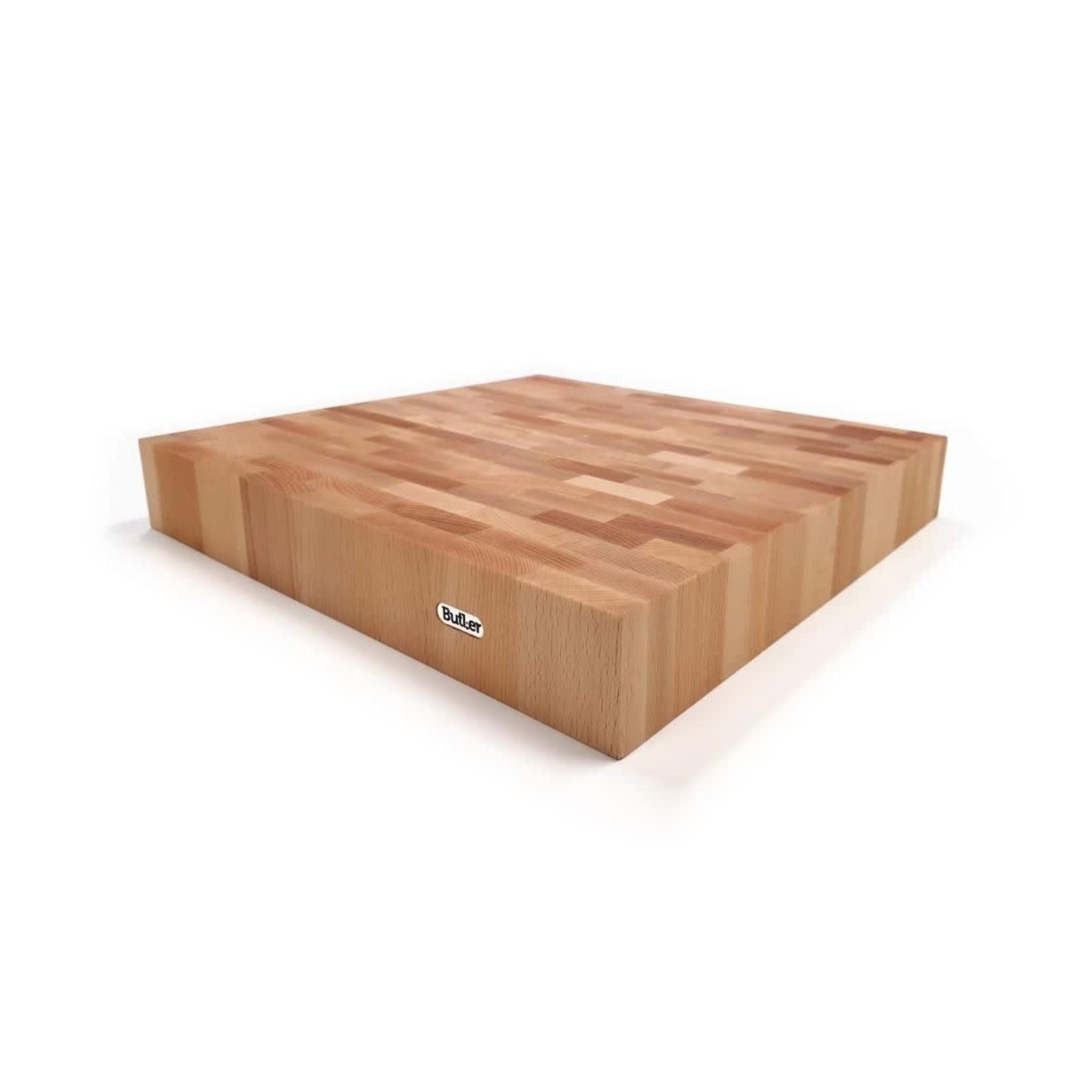 Hakblok beuken 40x40x6cm