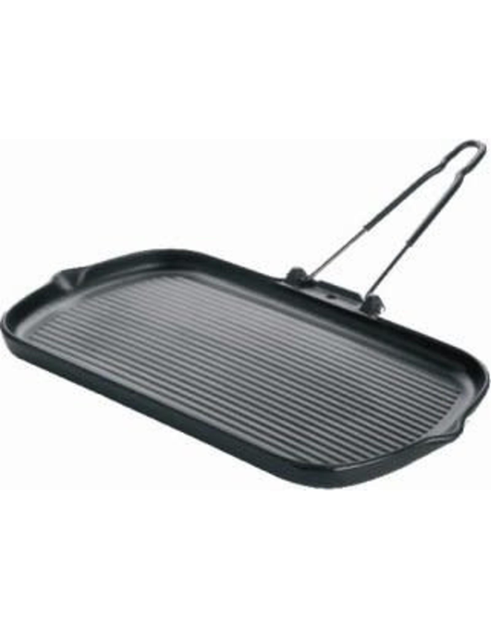 Chasseur Grillplaat 37,5x22,5cm geëmailleerd gietijzer zwart