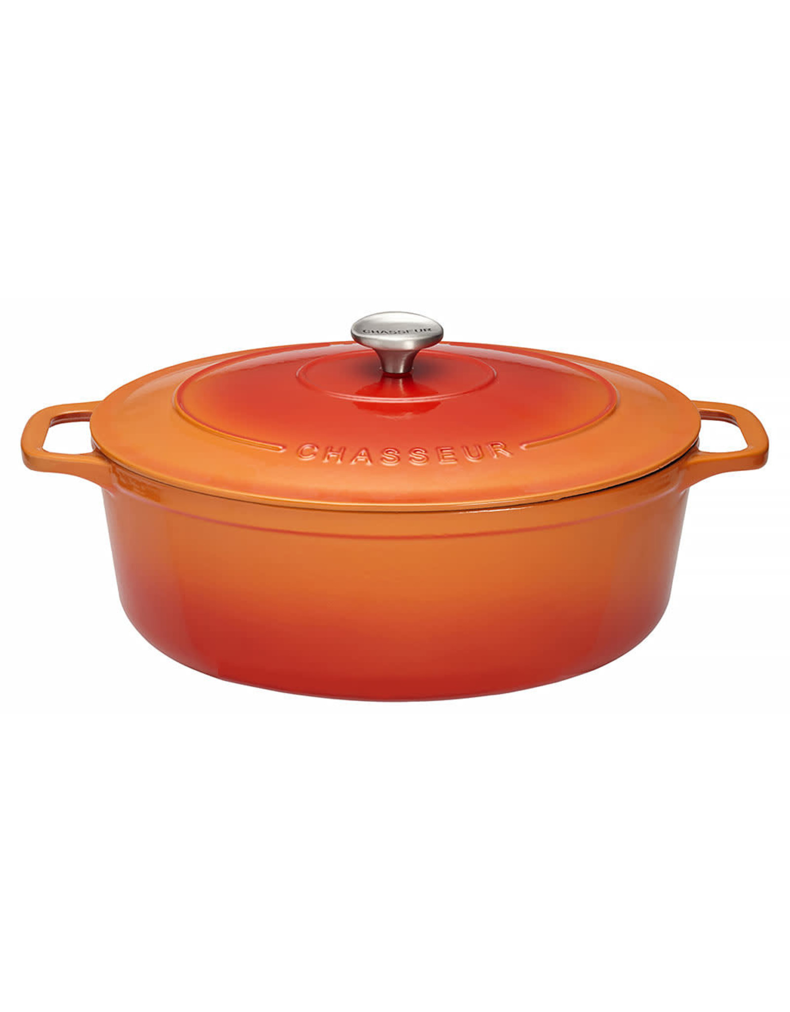 Chasseur Cocotte ovaal 29cm 5L oranje