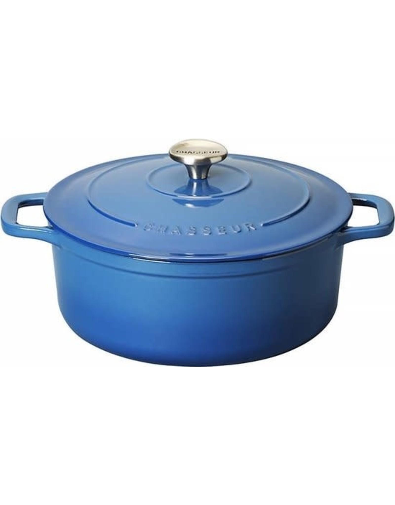 Chasseur Cocotte rond 20cm 2,5L blauw