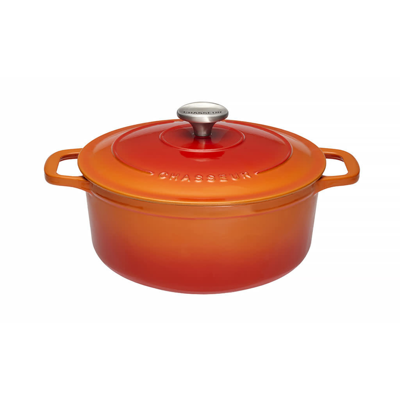 Chasseur Cocotte rond 20cm 2,5L oranje