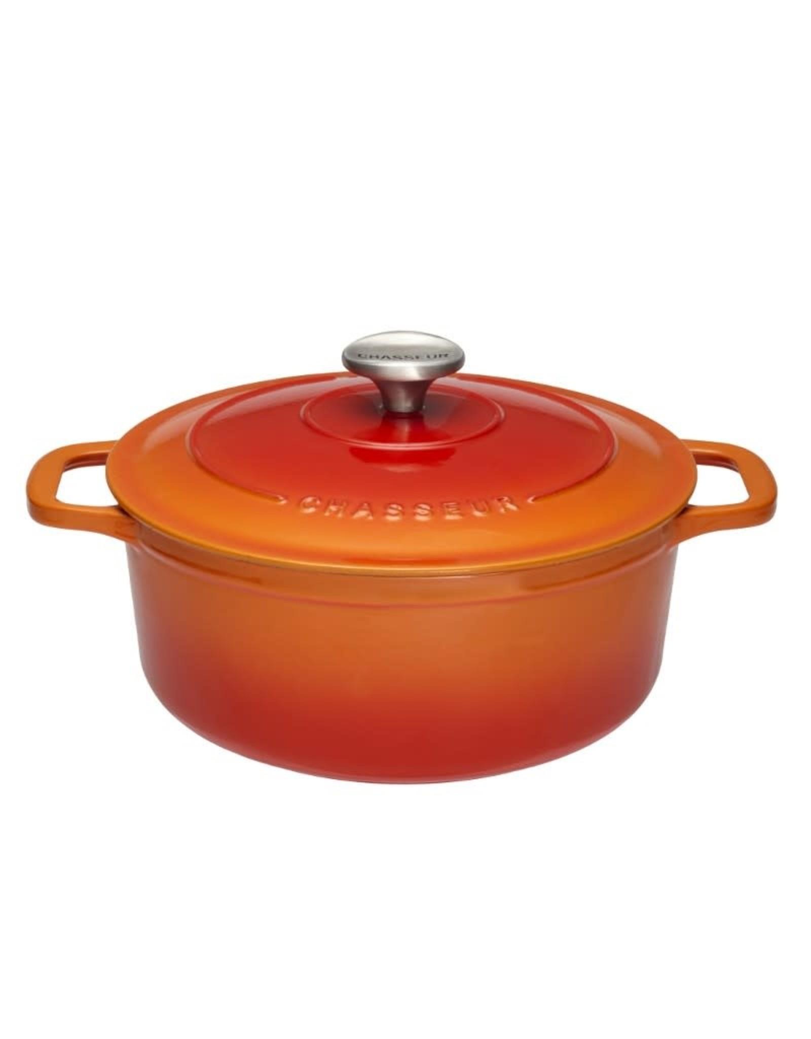Chasseur Cocotte rond 22cm 3,2L oranje