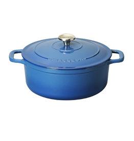 Chasseur Cocotte rond 24cm 4L blauw