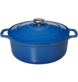 Chasseur Cocotte rond 28cm 6,1L blauw