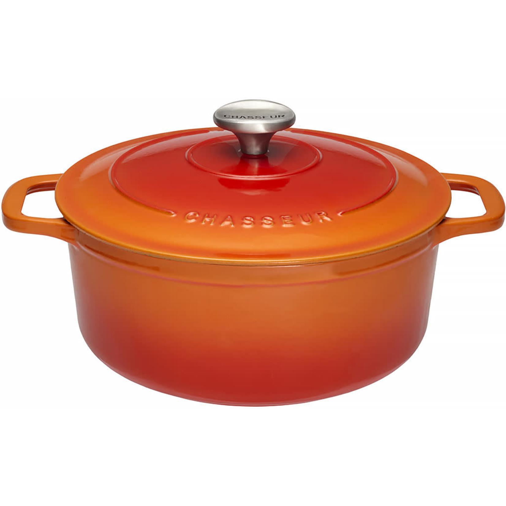 Chasseur Cocotte rond 28cm 6,1L oranje