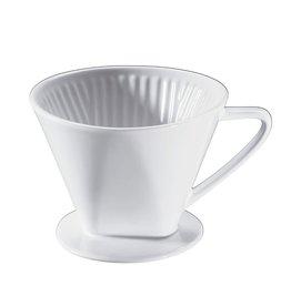 Cilio Porseleinen Koffiefilter 4